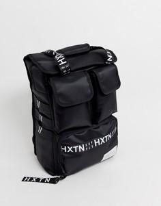 Черный рюкзак в стиле милитари HXTN - Supply - Черный