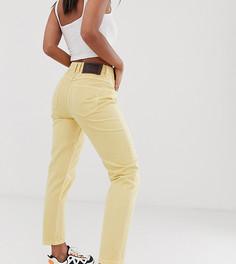 Суженные книзу узкие желтые джинсы в винтажном стиле Reclaimed Vintage - The 89 - Желтый