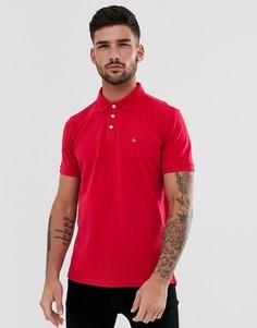 Поло красного цвета с логотипом Jack Wills - Bainlow - Красный