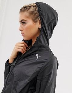Черная ветровка с капюшоном Puma ignite - Черный