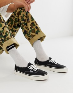 Черные кеды Vans - Anaheim Authentic 44 DX - Черный