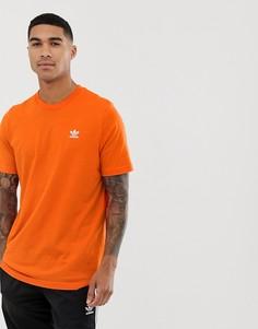 Оранжевая футболка adidas Originals - essentials - Оранжевый