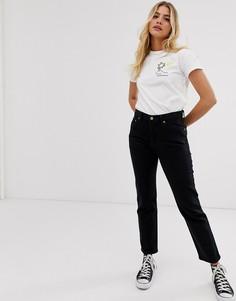 Черные укороченные джинсы Levis 501 - Черный