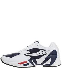 Кроссовки Белые кроссовки на шнуровке Mindblower Fila