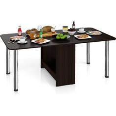 Стол-книжка обеденный Мебельный двор МД-СО-04 венге