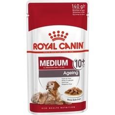 Пауч Royal Canin Medium Ageing 10+ Sause-Sobe кусочки в соусе собе для собак средних пород старше 10лет 140г