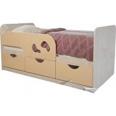 Кровать детская БТС Минима лего 80x160 крем-брюле