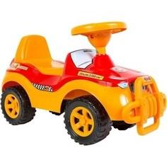 Каталка машинка RT ОР105к Джипик с клаксоном желтая