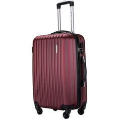Комплект чемоданов LCASE Krabi Red wine Lcase