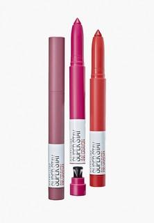 Помада Maybelline New York Superstay Ink Crayon, оттенок 50, красный, Владей своей империей, 1.5 гр