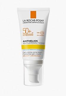 Гель для лица La Roche-Posay солцезащитный, для жирной и склонной к акне коже, SPF50+, 50 мл