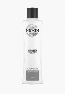 Шампунь Nioxin No.1 Cleanser Shampoo Step 1, 300 мл