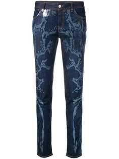 Just Cavalli джинсы скинни с эффектом обесцвечивания