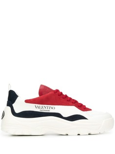 Valentino кроссовки со вставками