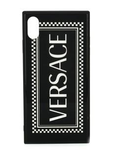 Versace чехол для iPhone X с архивным логотипом