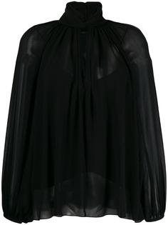 Givenchy блузка с завязкой на воротнике