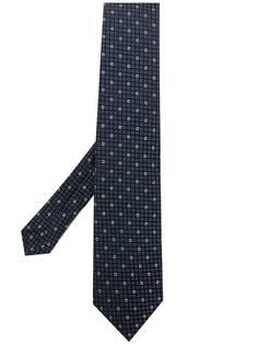 Etro классический галстук с принтом