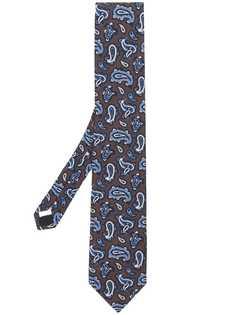 Lardini галстук с принтом пейсли