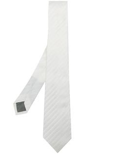 Delloglio галстук в диагональную полоску