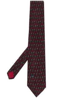 VALENTINO PRE-OWNED галстук с принтом