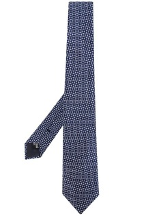 Emporio Armani галстук с узором