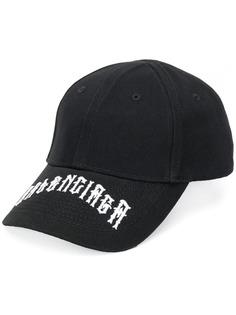 Balenciaga кепка с вышитым логотипом