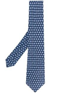 Kiton галстук с принтом