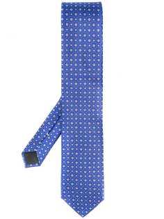 Canali галстук с цветочным узором