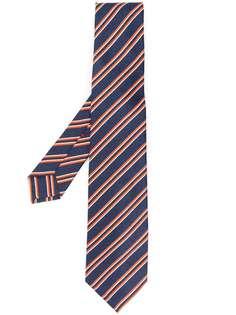 Kiton галстук в полоску