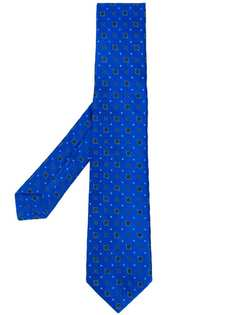 Kiton галстук с вышивкой