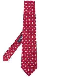 Etro галстук с мелким узором