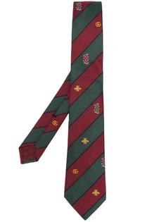 Gucci галстук с декором Symbols