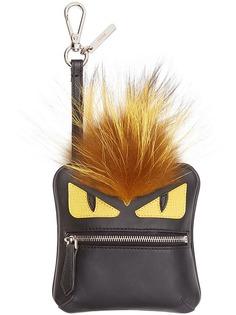 Fendi подвеска Bag Bugs с карманом для мелочи