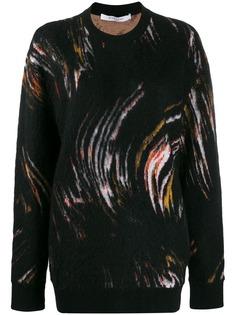 Givenchy джемпер с абстрактным узором