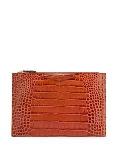 Givenchy клатч с тиснением под крокодиловую кожу