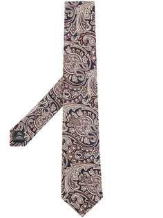 Gieves & Hawkes галстук с принтом пейсли
