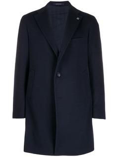 Tagliatore однобортное пальто