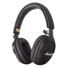 Наушники с микрофоном MARSHALL Monitor Bluetooth, 3.5 мм/Bluetooth, накладные, черный