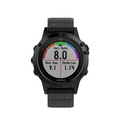 Спортивные часы Garmin Fenix 5 Sapphire Black GPS