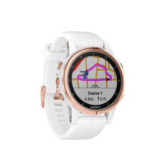 Спортивные часы Garmin Fenix 5S Plus Sapphire White