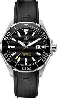 Швейцарские мужские часы в коллекции Aquaracer Мужские часы TAG Heuer WAY201A.FT6142