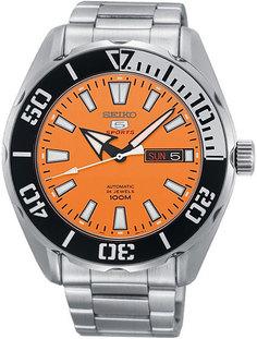 Японские мужские часы в коллекции SEIKO 5 Sports Мужские часы Seiko SRPC55K1