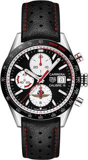 Швейцарские мужские часы в коллекции Carrera Мужские часы TAG Heuer CV201AS.FC6429