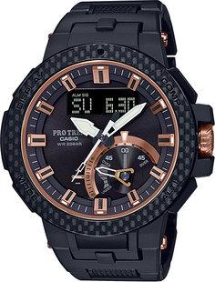 Японские мужские часы в коллекции Pro Trek Мужские часы Casio PRW-7000X-1ER