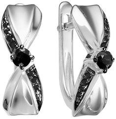 Золотые серьги Серьги Vesna jewelry 2813-256-02-00