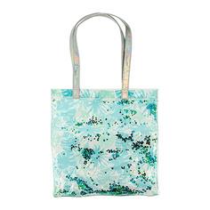 Пляжная сумка LADY PINK с листьями