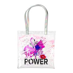 Пляжная сумка LADY PINK с фламинго