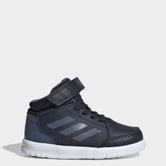 Для девочек высокие кроссовки Adidas
