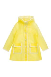 Желтый дождевик Bonpoint