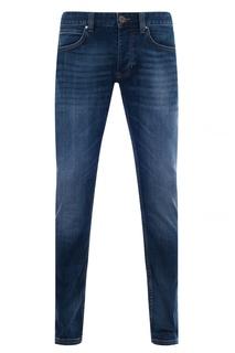 Синие джинсы с застежкой на пуговицы Robin Strellson